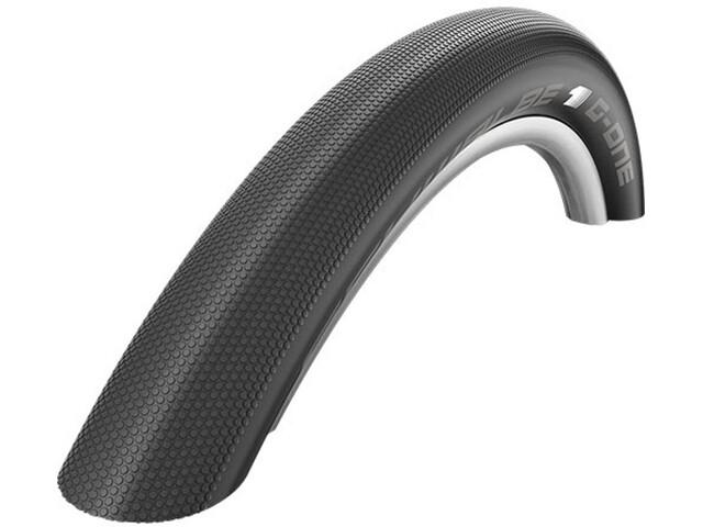 """SCHWALBE G-ONE Speed Cykeldæk Evo SnakeSkin TL-Easy 29"""" foldbar sort"""